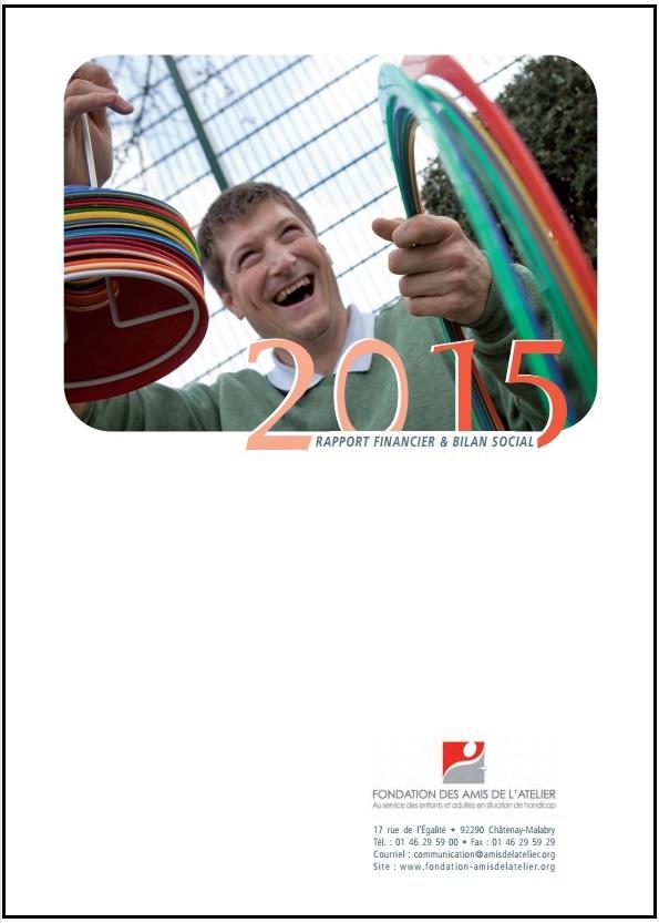 bilan social et financier 2015